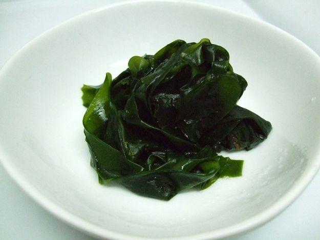 Boiled_wakame seaweed
